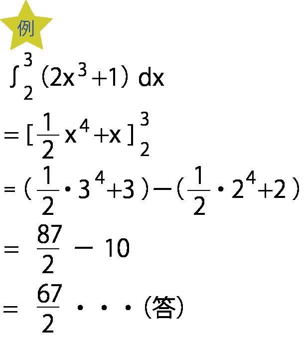 定積分具体例