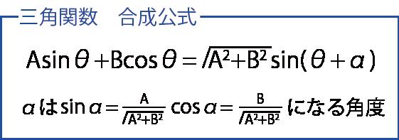 三角関数 合成 公式