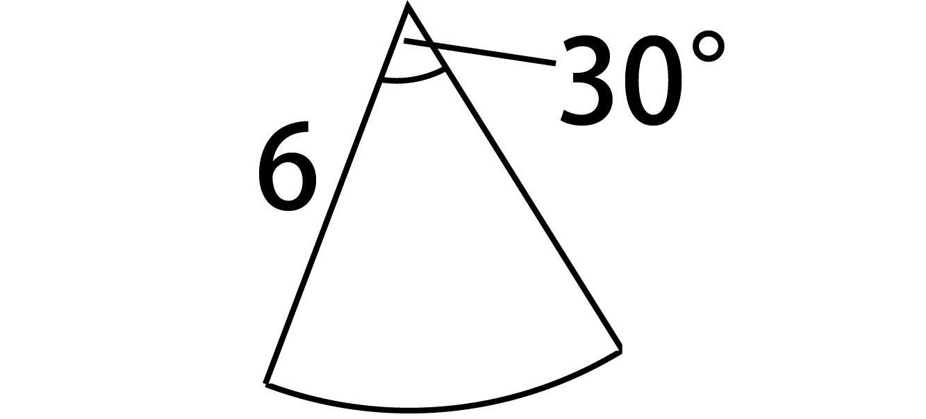 扇形面積公式証明