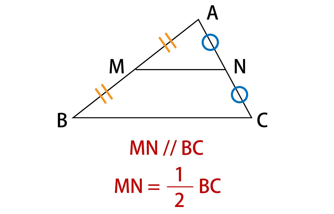 中点連結定理解説画像