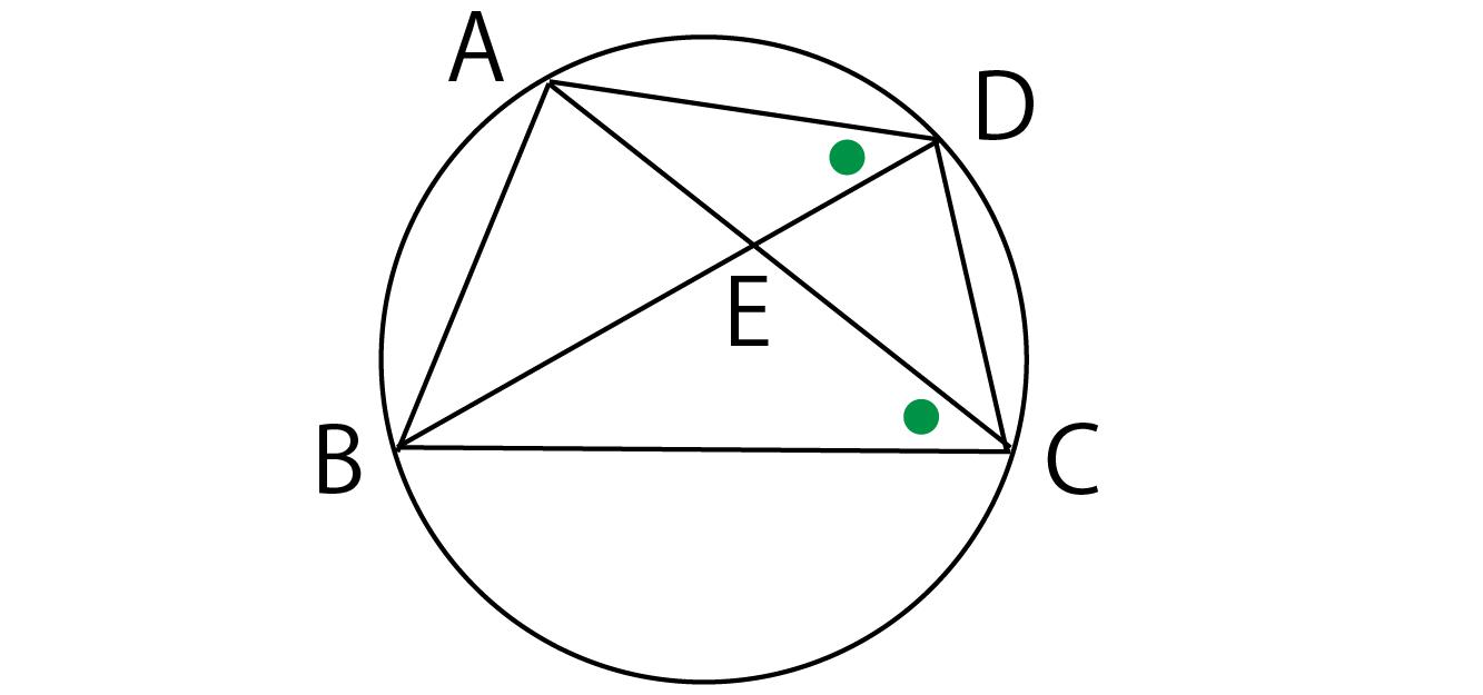 円周角の定理の逆の問題解説画像