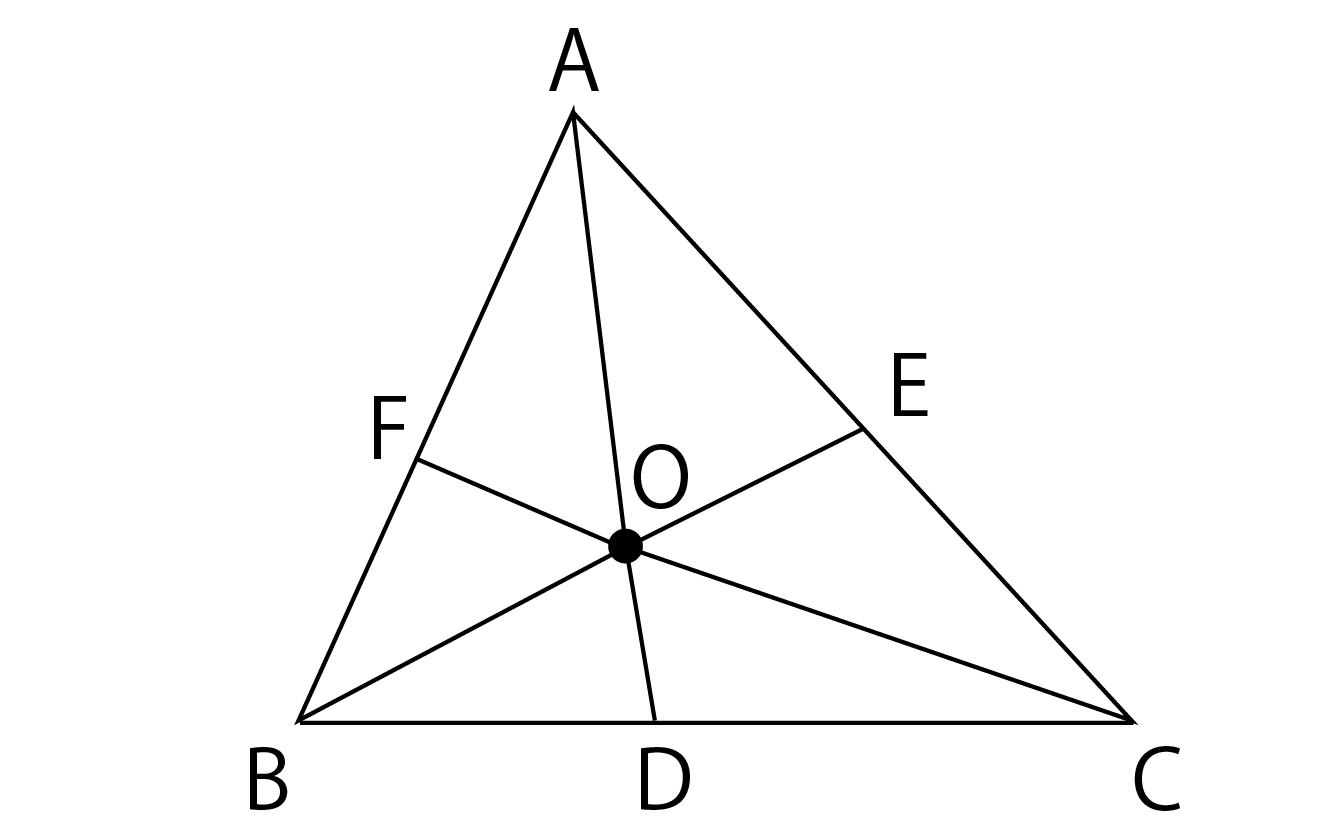 チェバの定理の証明解説画像
