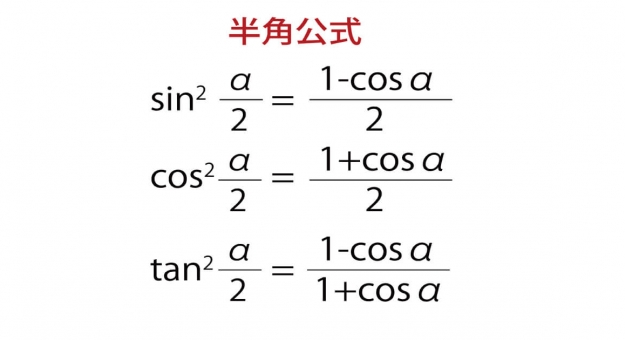 半角公式が一目でわかる!証明&必ず解きたい問題付き