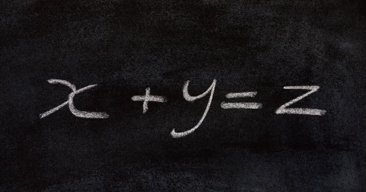 連立方程式のイメージ
