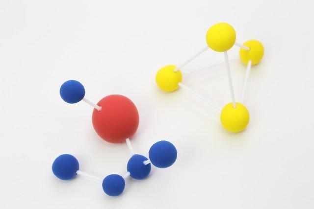 原子量と分子量のイメージ