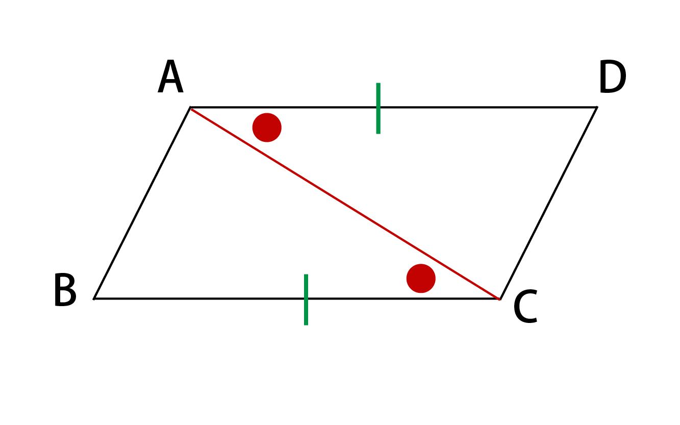 平行四辺形になるための条件その5証明