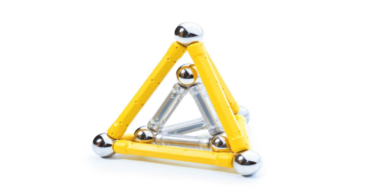 三角錐の体積のイメージ