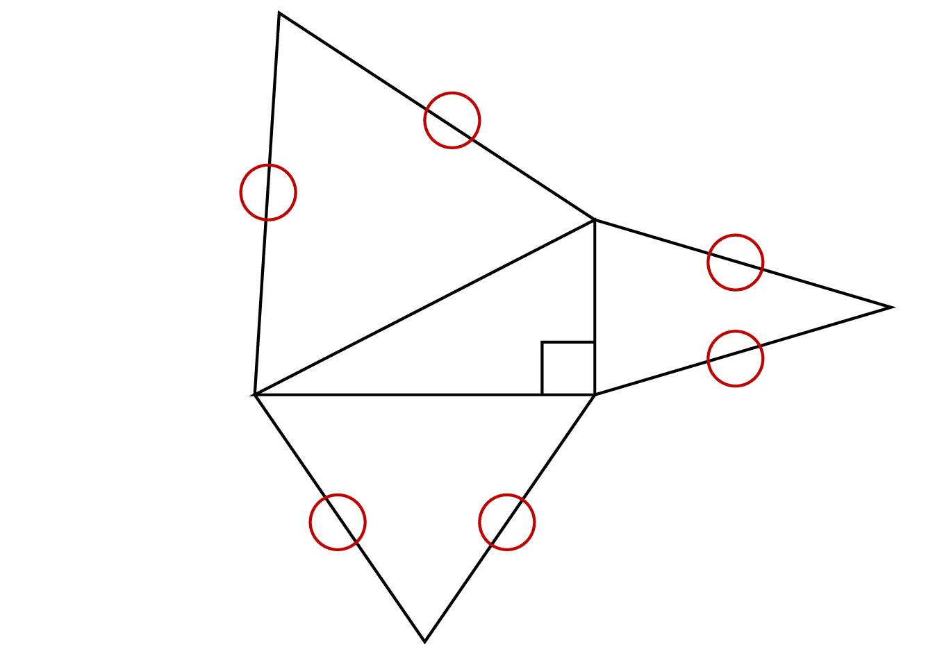三角錐の展開図