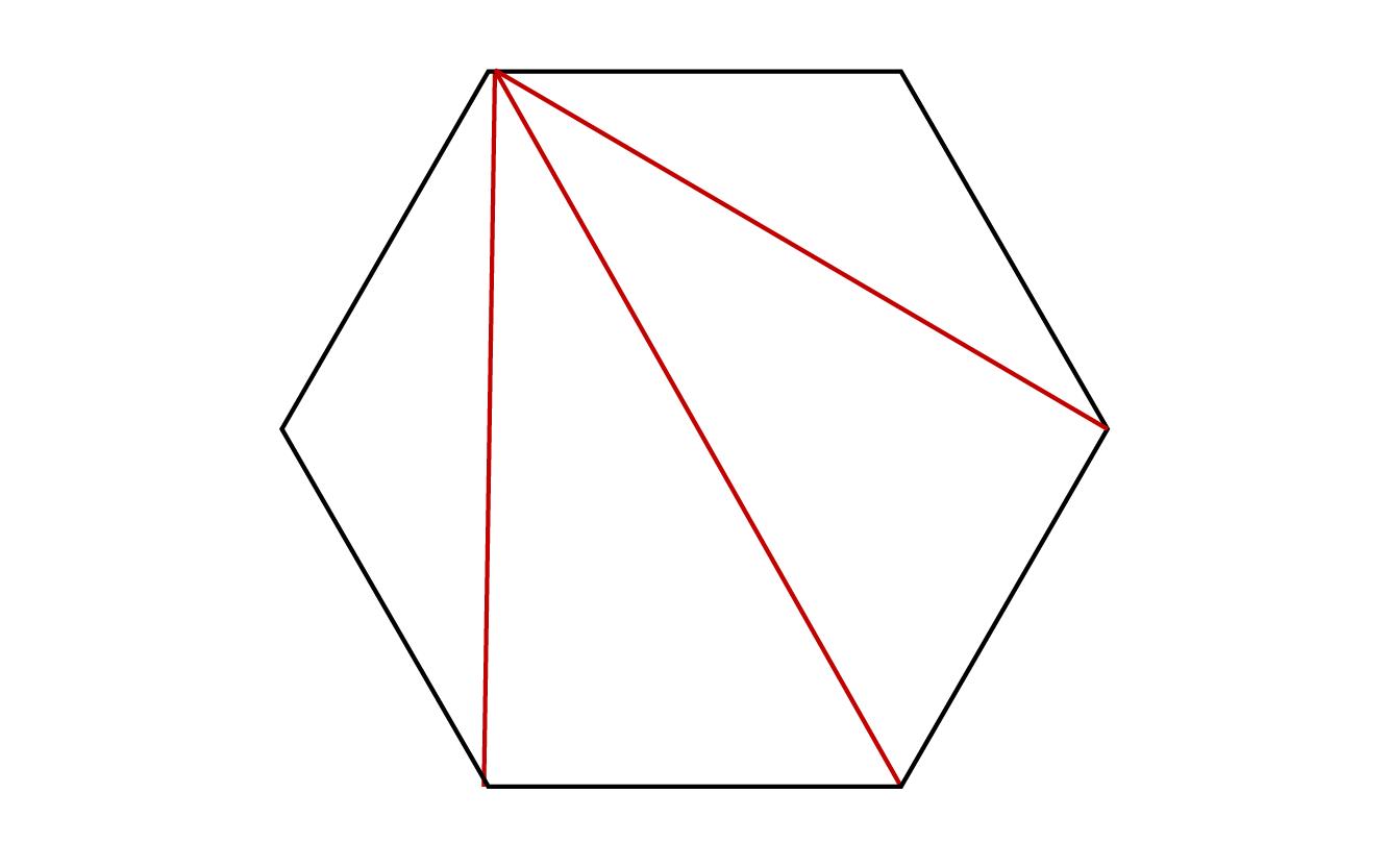 の 六 内角 の 和 角形