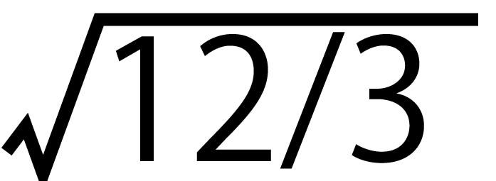 平方根19
