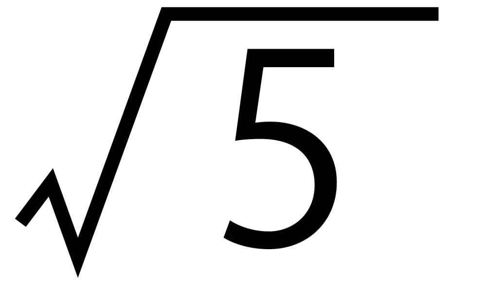 平方根15