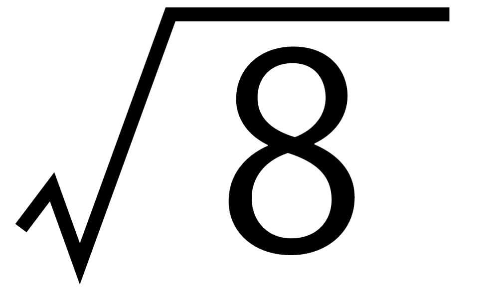 平方根10