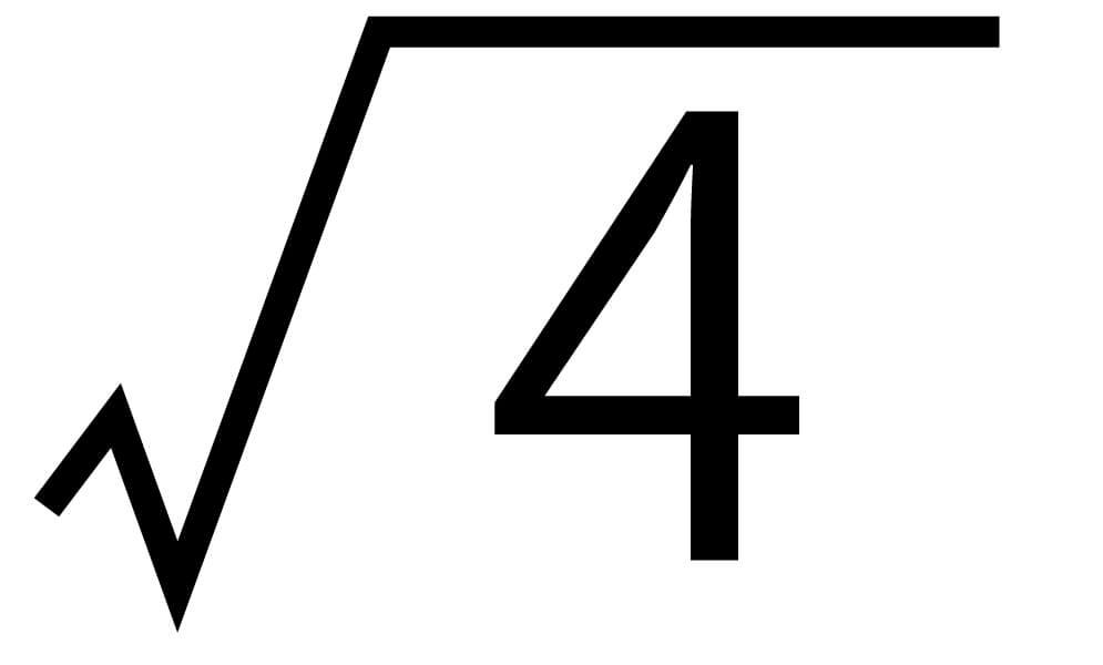 平方根20