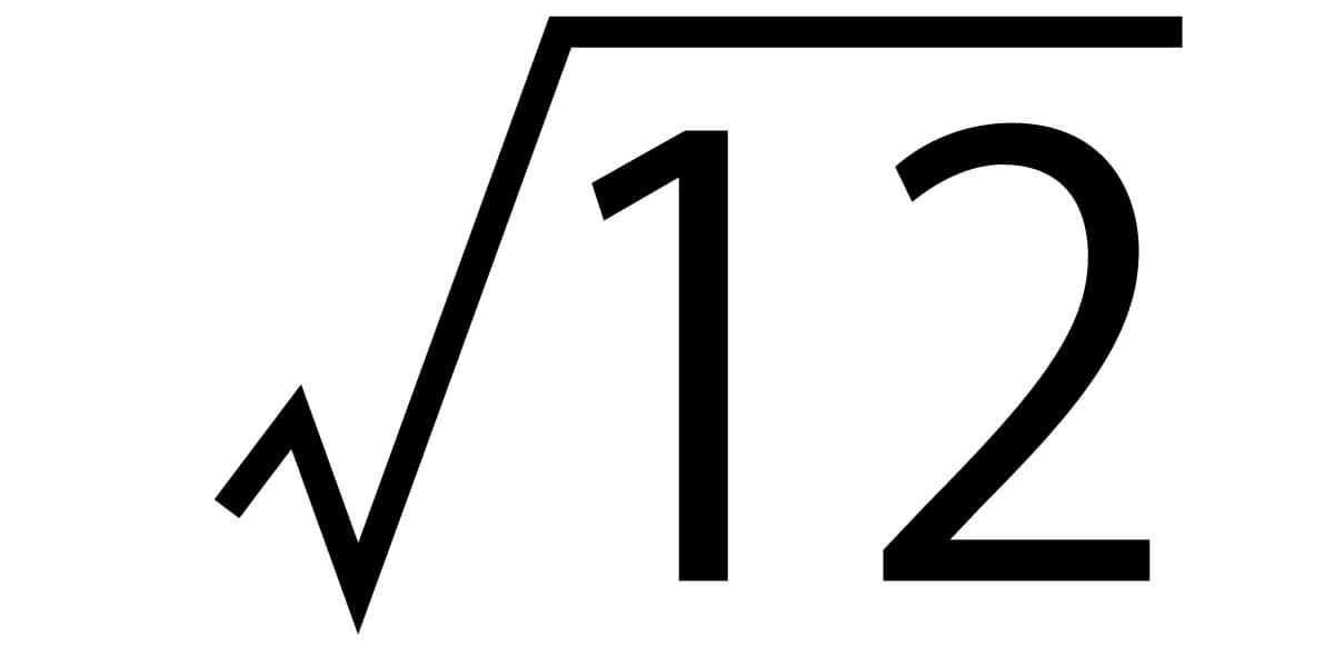 平方根18