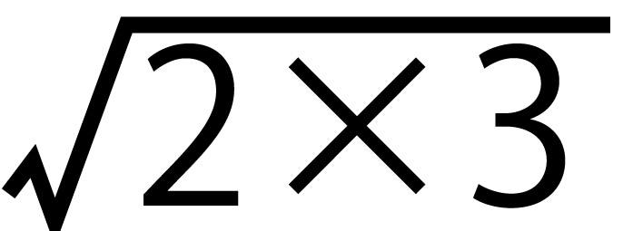 平方根13