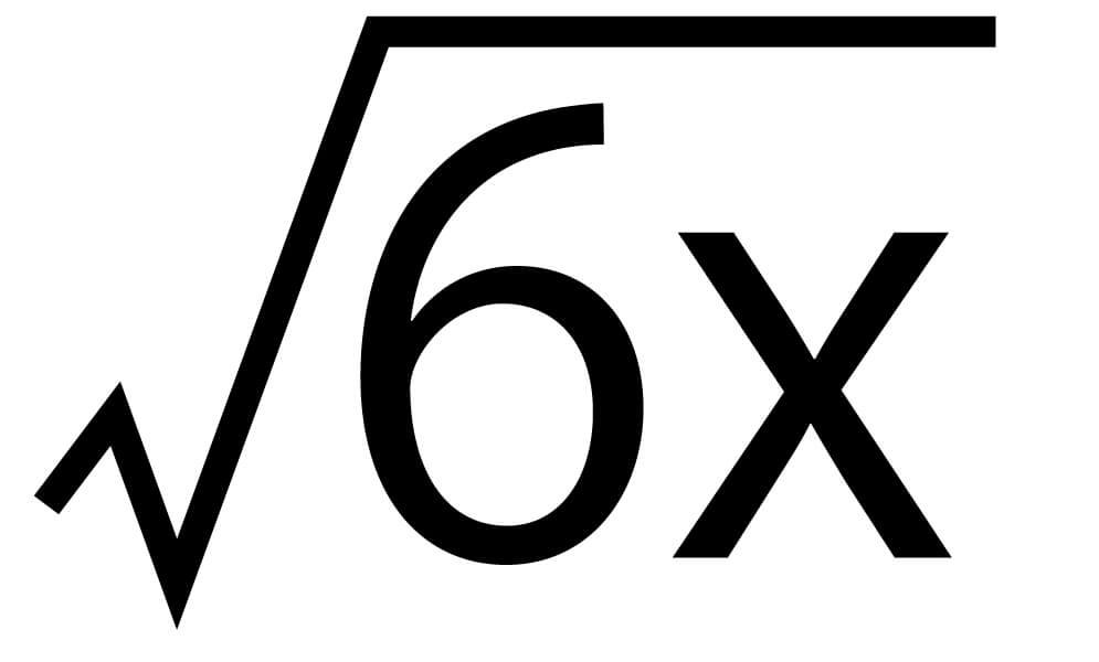 平方根22