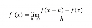 導関数 定義