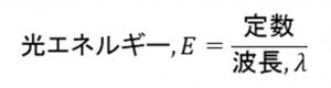 炎色反応②光エネルギーの公式②