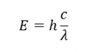 炎色反応①光エネルギーの公式
