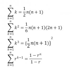 群数列で使うシグマ(Σ)の公式まとめ