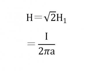 アンペールの法則 計算式