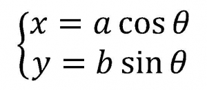 楕円の媒介変数表示