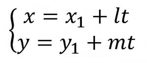 媒介変数表示の解説
