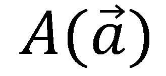 媒介変数表示の説明、aベクトル