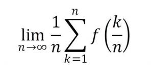 区分求積法をΣで表す
