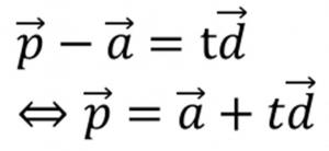 ベクトルの方程式