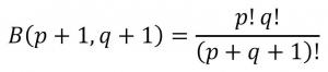 部分積分を用いたβ(ベータ)関数の証明の前提