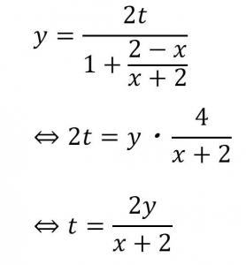 曲線の媒介変数表示の例題の式の続き