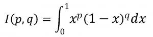 部分積分を用いたβ(ベータ)関数の問題