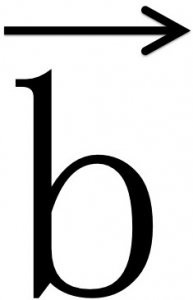 ベクトルb