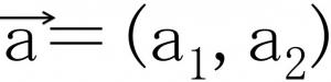 ベクトルa(a1,a2)