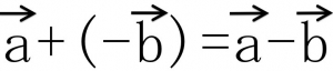 a+(-b)=a-b