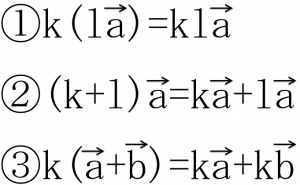 実数k,lとa,b対して