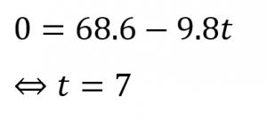 重力加速度の問題3