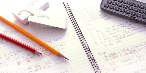 単語帳の画像