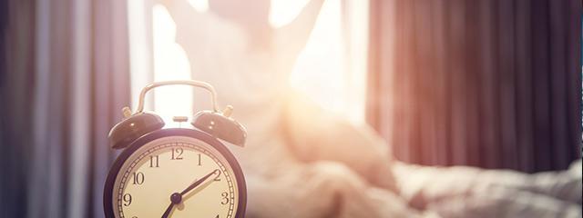 受験生に理想的な睡眠時間を確保するため、朝型がおすすめ